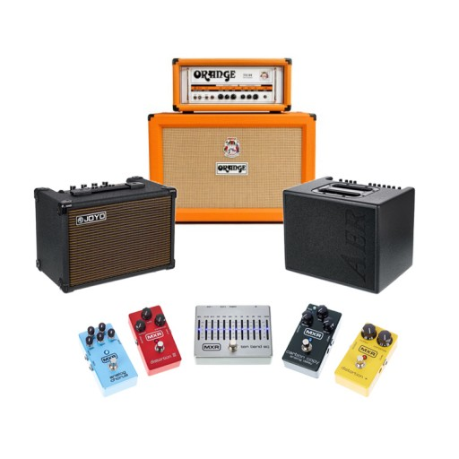 Amplifiers - Pedals